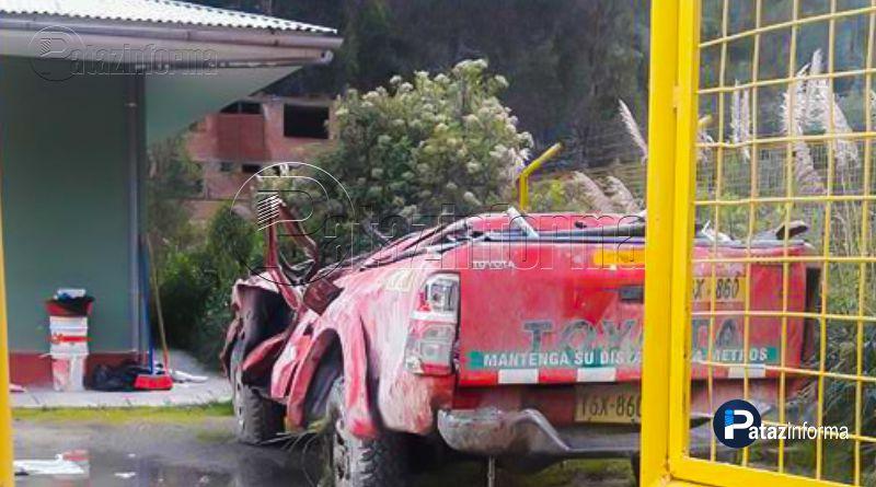 PATAZ | Dos accidentes de tránsito en carretera Buldibuyo – Retamas