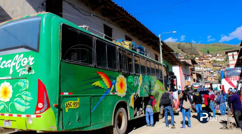 TAYABAMBA | Picaflor y Jhany Tours son asaltados rumbo a Trujillo