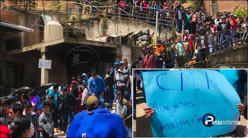 PARCOY | Pobladores piden a CMH construcción de colegio primario