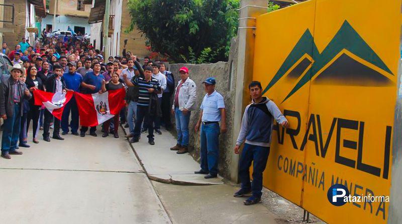 HUAYLILLAS | Anuncian radicalizar huelga y sacar a minera CARAVELÍ