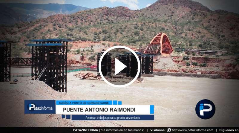 PATAZ | Puente Antonio Raimondi muy pronto surcará río Marañón