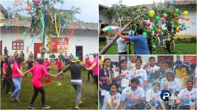 "TAYABAMBA | Celebran con fiestas desbordantes ""Los Carnavales"""