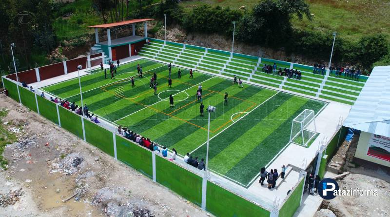 TAYABAMBA | Collay contará con un moderno complejo deportivo