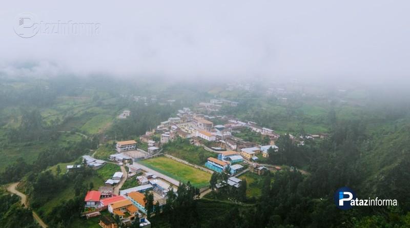 PATAZ | Distritos soportan lluvia, neblina y descenso de temperatura