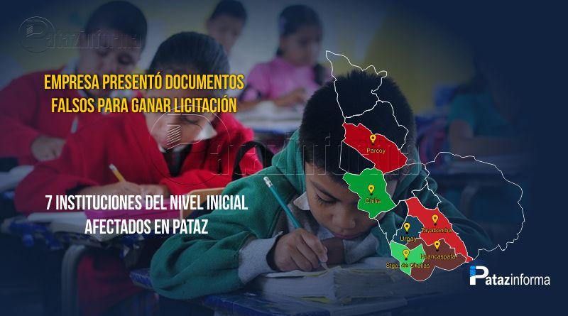 PATAZ | Empresa presentó documentos falsos para ganar licitación