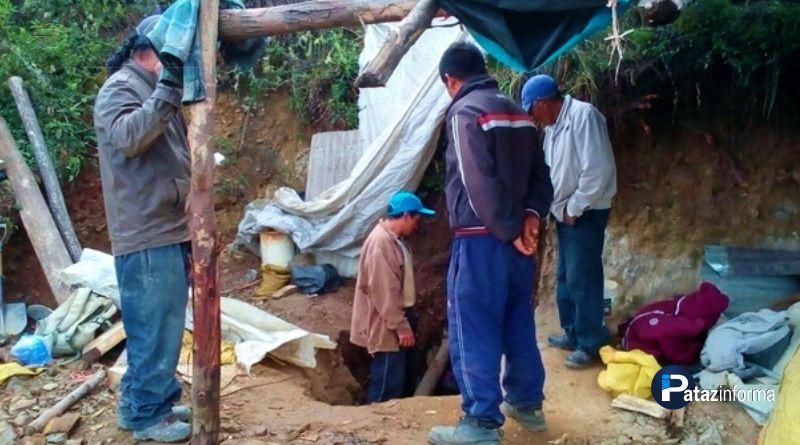 PATAZ | Escolar muere atrapado al interior de mina de oro informal