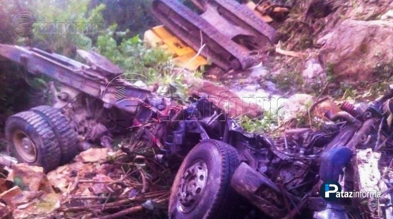 PATAZ | Facinerosos desvalijan maquinaria de empresa OBRAINSA