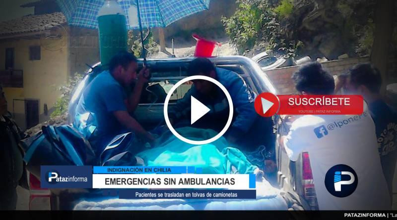 CHILIA | Indignación por traslado de pacientes en tolvas de vehículos