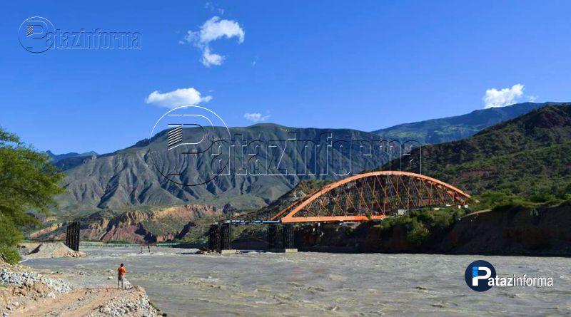PATAZ | Nuevas fotos revelan avance del Puente Antonio Raimondi