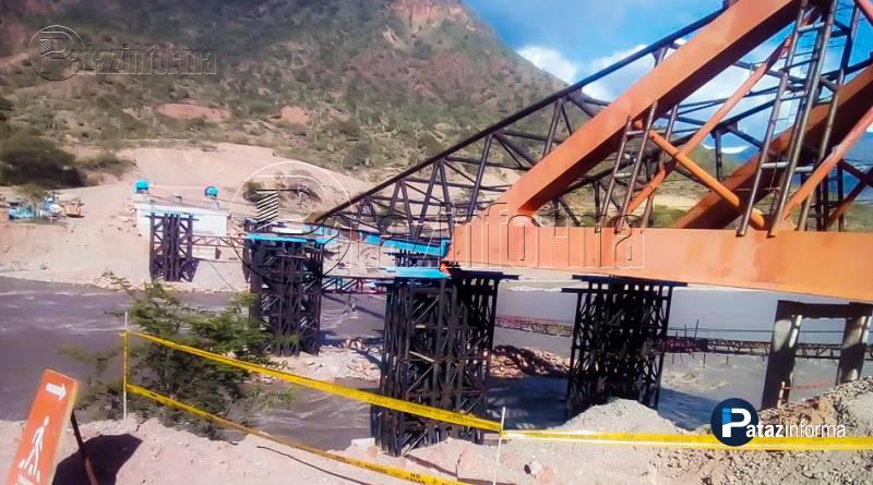 PATAZ | Puente Antonio Raimondi continúa cruzando el río Marañón