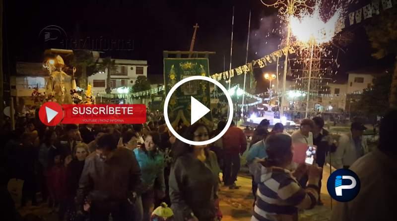TAYABAMBA | Encuentro de Santo Toribio, único en nuestra región