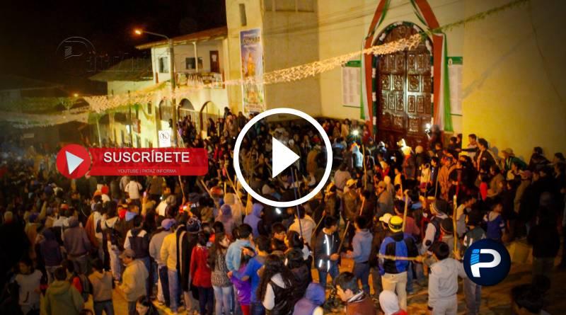 TAYABAMBA | Se acerca GRAN ALBAZO, al son de lloques y chicotes
