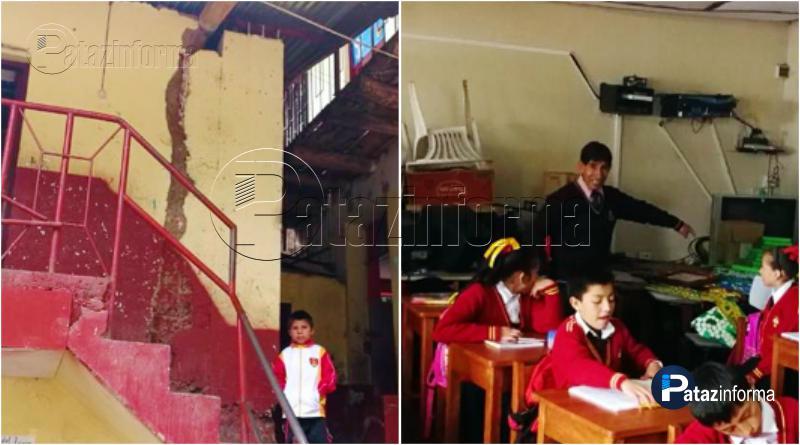 PARCOY | Estudiantes en peligro, colegio primario a punto de colapsar