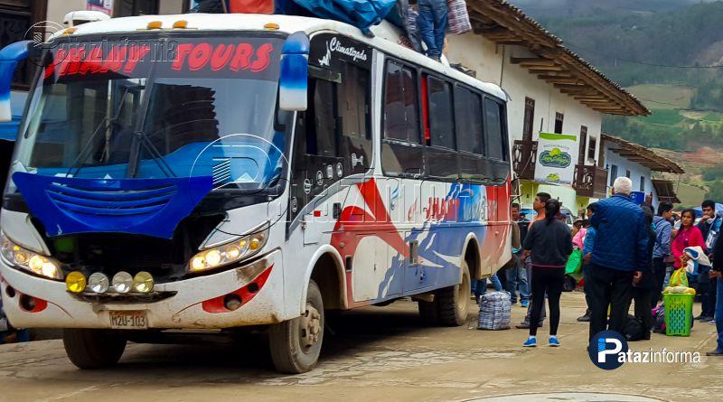 TAYABAMBA | Nuevamente Jhany Tours sufrió asalto por el proyecto