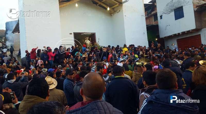 TAYABAMBA | En hombros Santo Toribio realizó su entrada triunfal
