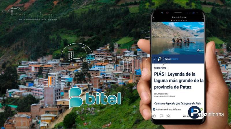 PATAZ | Muy pronto servicio de telefonía móvil e internet de BITEL