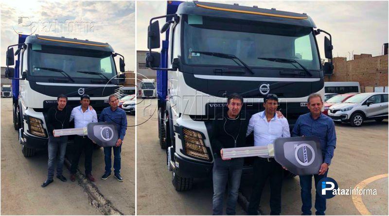 PARCOY | Donan camión para recolectar basura en Llacuabamba