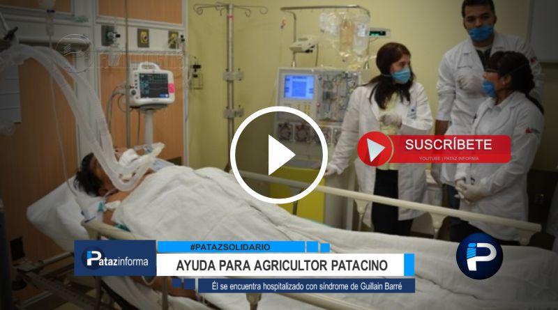 PATAZ | Piden apoyo para agricultor con síndrome Guillain – Barré