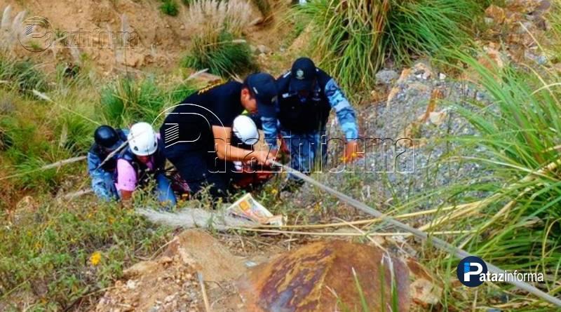 LA LIBERTAD | Camión cae a abismo y deja un muerto y 3 heridos