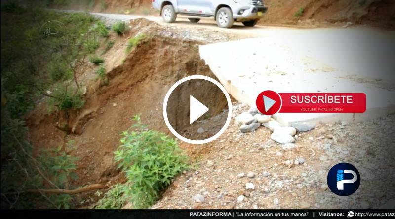 PATAZ | Denuncian deficiencias en proyecto vial Chagual – Pataz
