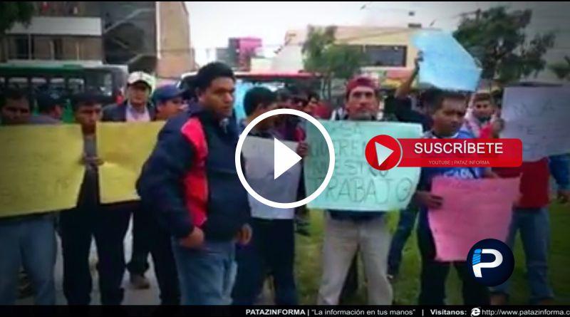 PATAZ | Mineros de empresa minera MARSA piden reposición laboral