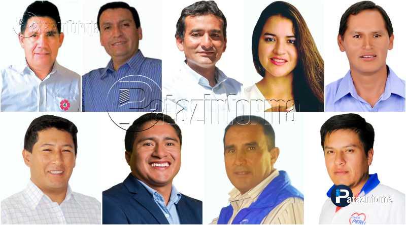 PATAZ | 9 candidatos disputarán Alcaldía de Municipalidad Provincial