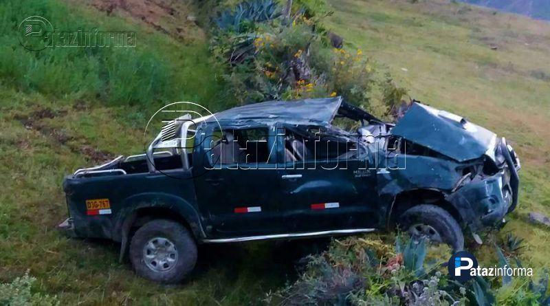 PATAZ | Despiste de camioneta deja un muerto en distrito Buldibuyo
