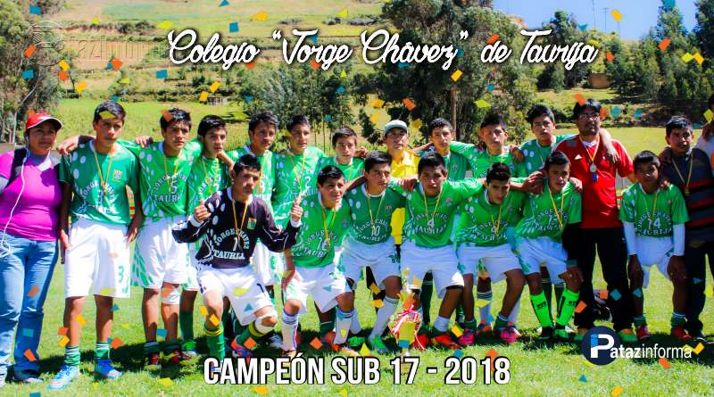 DEPORTES | Colegio de Taurija campeón provincial de fútbol Sub 17
