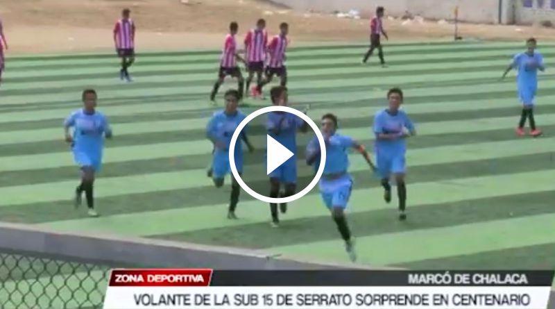 DEPORTES | Joven piasino sorprende en la Copa Centenario Sub 15