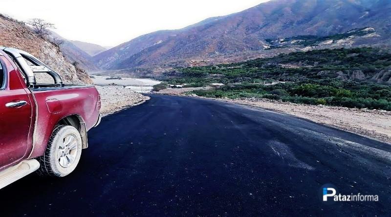 PATAZ | Cerrarán pase vehicular día y noche en carretera por asfaltado
