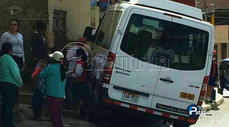 LA LIBERTAD | Combi atropella a 2 escolares y chofer fuga en el ande