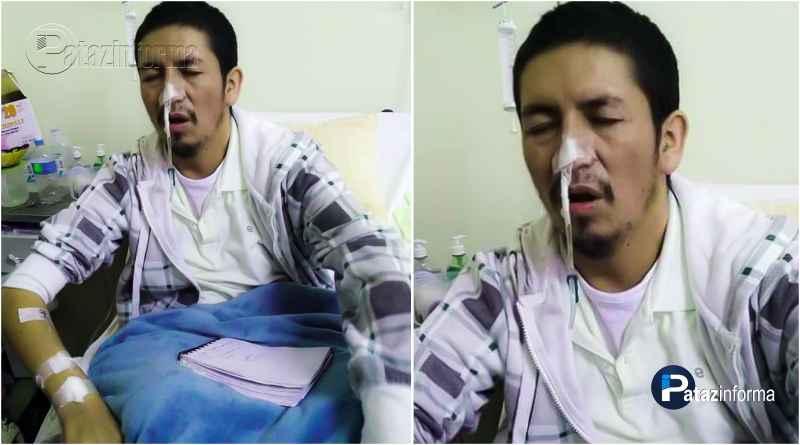 PATAZ | Hijo taurijano necesita de todos. Él se encuentra hospitalizado