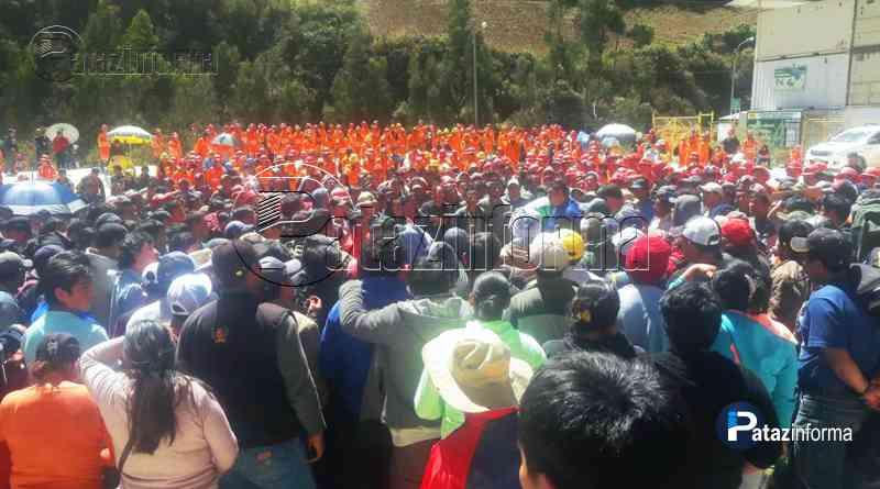 PARCOY | Mineros artesanales realizan paro contra empresa MARSA