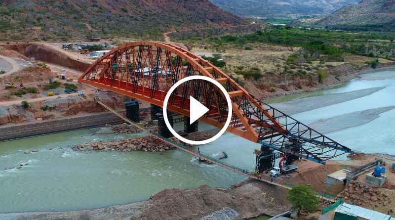 PATAZ | Construcción de Puente Antonio Raimondi concluirá en agosto