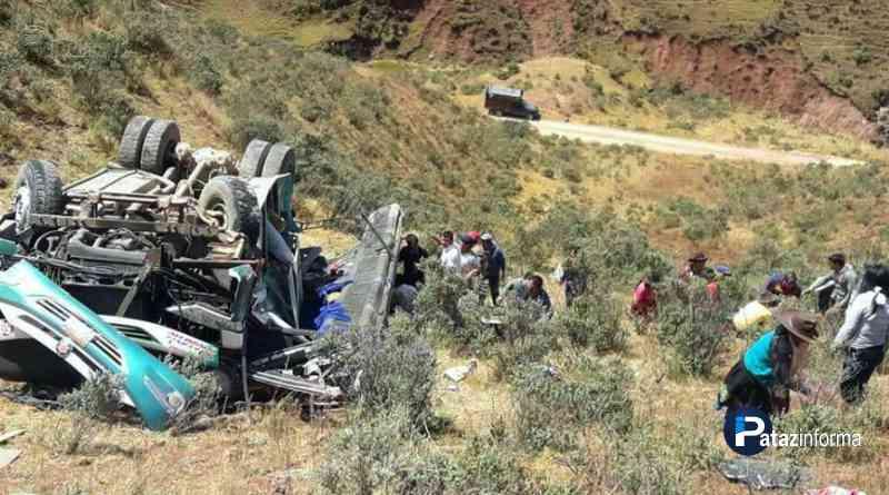 ANCASH   10 muertos y más de 20 heridos dejó un accidente de tránsito