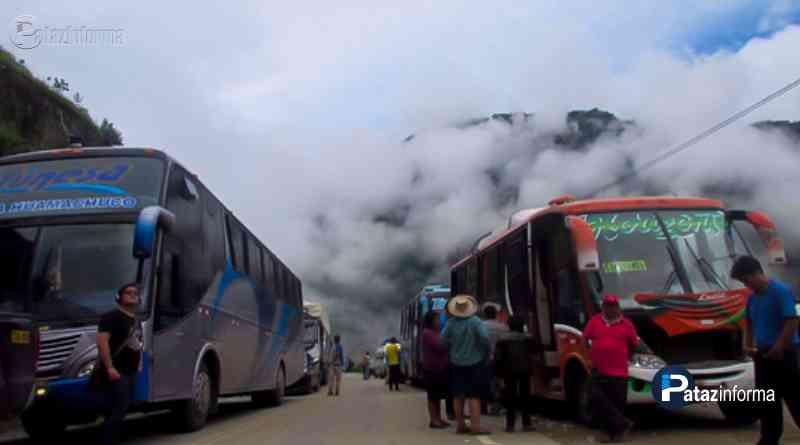 LA LIBERTAD | Amenazan con cerrar tránsito vehicular al ande liberteño