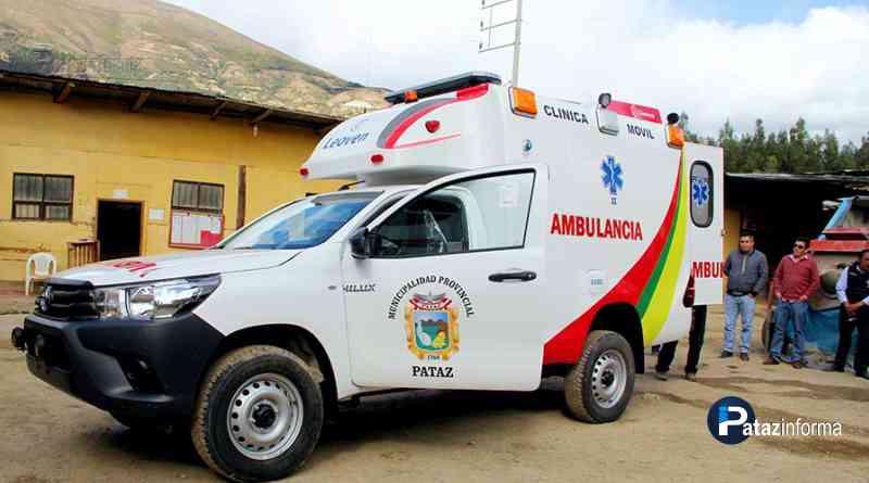TAYABAMBA   Adquieren clínica móvil para atención y traslado de pacientes