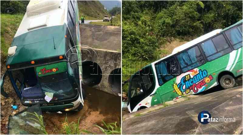 PERÚ   Grupo de cumbia que se presentará en Pataz sufrió accidente