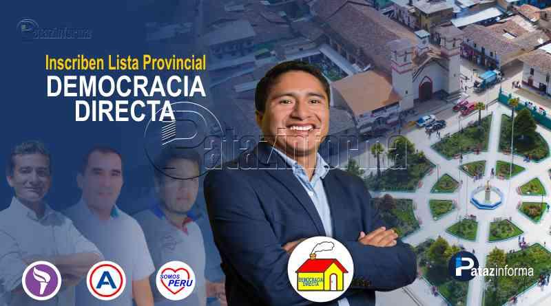 TAYABAMBA | Lista de Democracia Directa se suma a la carrera electoral