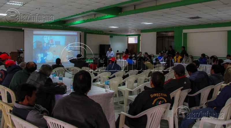 PATAZ | Dan ultimátum a MTC para reinicio de asfaltado por OBRAINSA