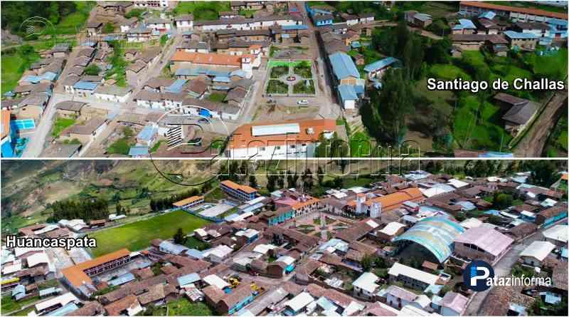 PATAZ | Millones para obras en Santiago de Challas y Huancaspata