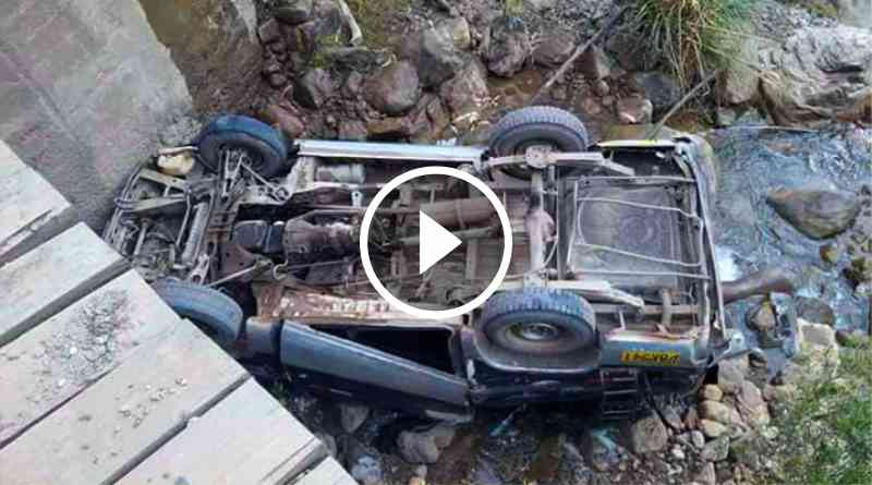 ANCASH | Combi sufre aparatoso accidente dejando 3 heridos en Sihuas