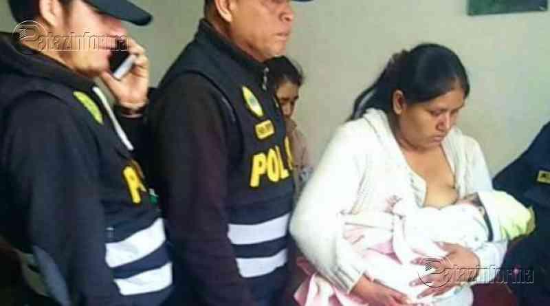 PERÚ | Apareció bebé de mes y medio que fue raptado por mujer en Huaycán