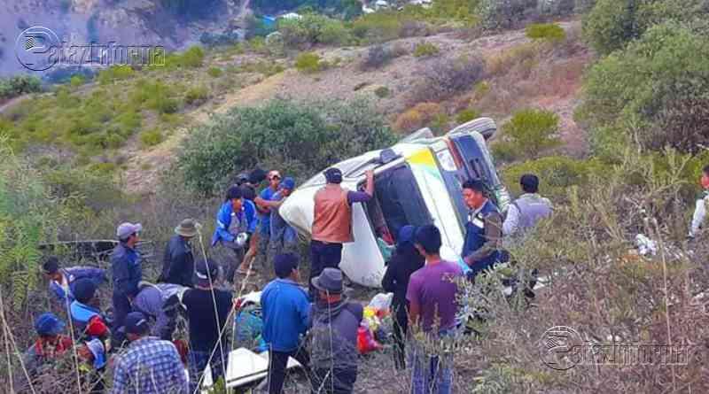 ANCASH | Aparatoso accidente deja varios heridos y a una niña fallecida