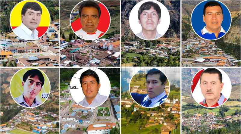 PATAZ | Distritos patacinos ya cuentan con sus nuevas autoridades ediles
