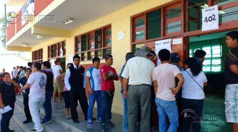 LA LIBERTAD | 4 provincias liberteñas podrían presentar conflictos electorales