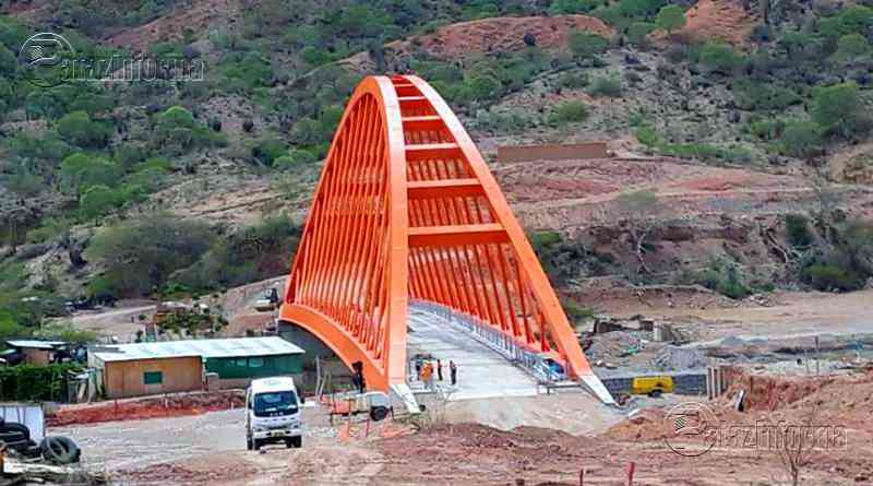 PATAZ | Puente Antonio Raimondi sobre el río Marañón en su etapa final