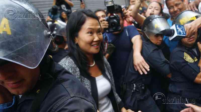 PERÚ | Dictan detención preliminar contra KEIKO, lidereza de Fuerza Popular