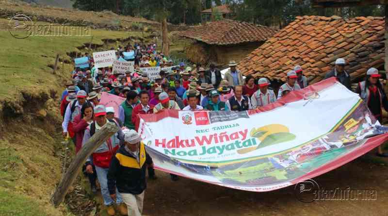 TAURIJA | FONCODES lanzó proyecto Haku Wiñay beneficiando a 395 familias
