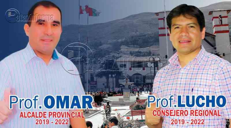 TAYABAMBA | Omar Iparraguirre y Luis Rodriguez nuevas autoridades por Pataz